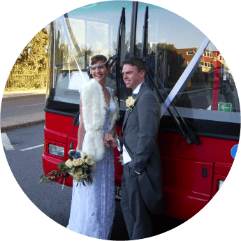 Wedding Bus Hire from 1st Bus Stop
